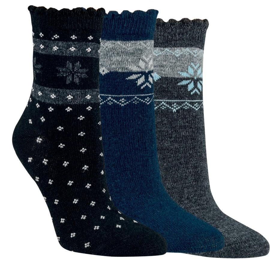 Dámské teplé tenké kašmírové ponožky RS