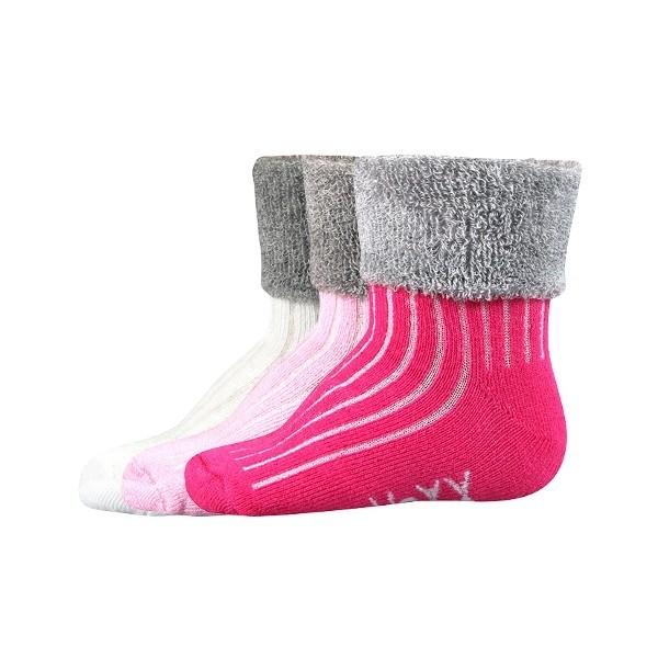LUNIK kojenecké froté ponožky Voxx - Ponožkožrout.cz - ponožky ... effc8ed330