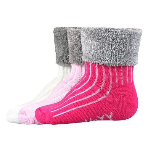 LUNIK kojenecké froté ponožky Voxx
