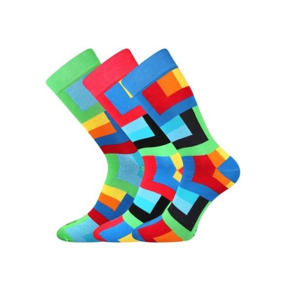 36d692a341d WEAREL 013 pánské ponožky barevné Lonka - KOSTKY - Ponožkožrout.cz ...