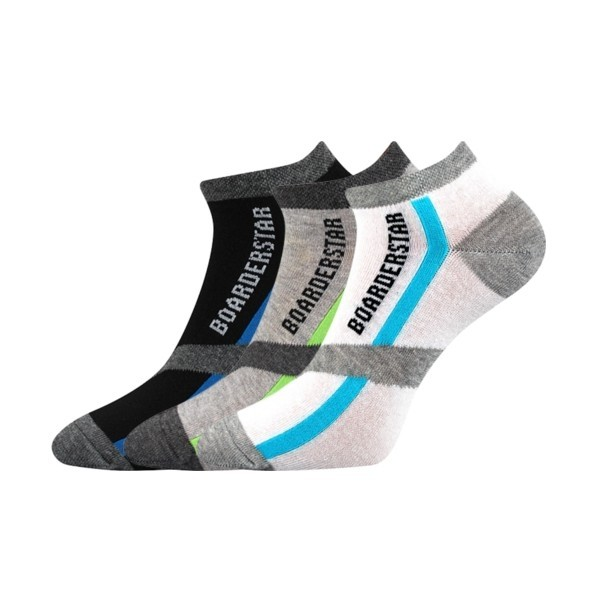 PIKI nízké barevné ponožky Boma - MIX 48 - Ponožkožrout.cz - ponožky ... fc61368764