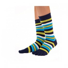 STRIPY prstové barevné ponožky ToeToe - Ponožkožrout.cz - ponožky ... 128635dd10