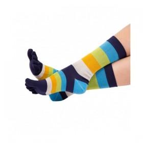 MEN FASHION barevné prstové ponožky ToeToe - PRUHY - Ponožkožrout.cz ... ba1af669f7