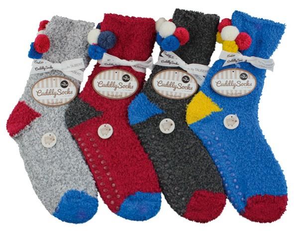 Dámské legrační žinilkové spací ponožky Taubert17