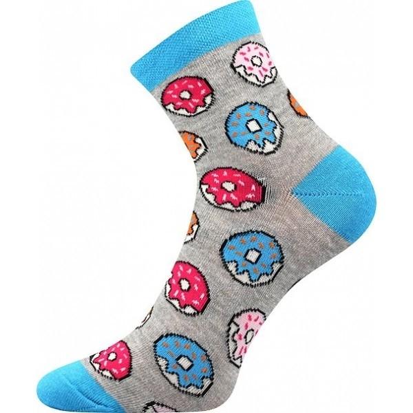 84fbe71e8fd S-PATTE barevné ponožky - DONUTS - Ponožkožrout.cz - ponožky ...