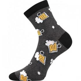 13ae7feab37 S-PATTE barevné ponožky - PIVO - Ponožkožrout.cz - ponožky