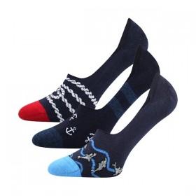 VORTY extra nízké bavlněné ponožky s protiskluz patou Lonka ... a374e62b02