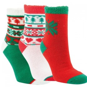 Luxusní dámské akrylové teplé vánoční ponožky RS - Ponožkožrout.cz ... f9839fe46d