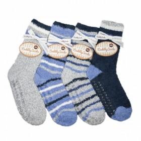 3e994980cb3 Dámské pruhované žilkové spací ponožky s protiskluzem Taubert17 ...