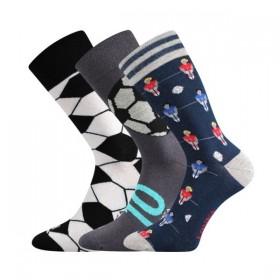 648c3b5153b WOODOO barevné ponožky Lonka - FOTBAL - Ponožkožrout.cz - ponožky ...