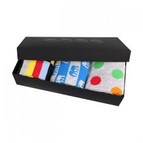 WEBOX barevné ponožky v krabičce Lonka - mix 02 - Ponožkožrout.cz ... 5973141c34