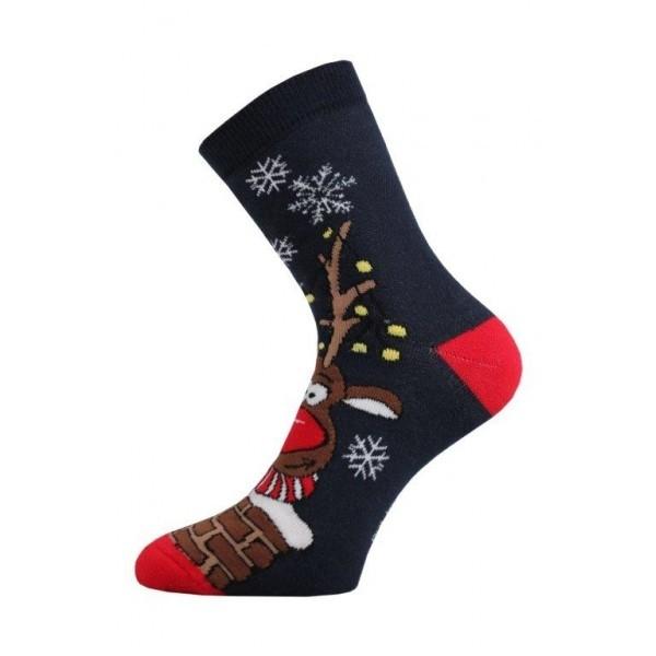 8d13d815186 RUDOLF vánoční ponožky Lonka - Ponožkožrout.cz - ponožky
