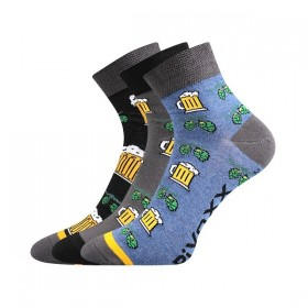 dd8eb517ce6 PIFF barevné ponožky s pivem Voxx - DARK - Ponožkožrout.cz - ponožky ...
