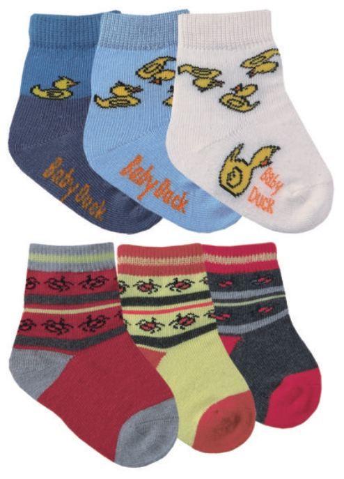 Boy & girl ponožky pro kojence
