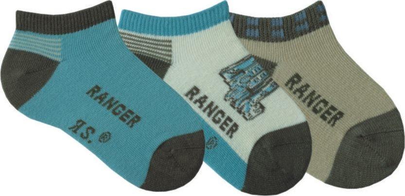 Dětské letní bavlněné ponožky RS