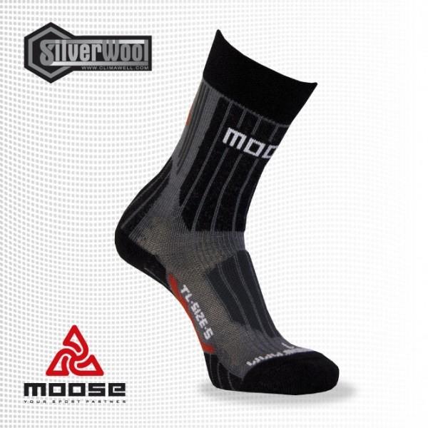 TRAIL sportovní zimní ponožky Moose