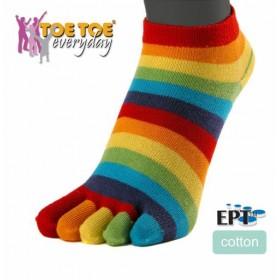 TRAINER prstové kotníkové ponožky ToeToe - Ponožkožrout.cz - ponožky ... 4ff3254137