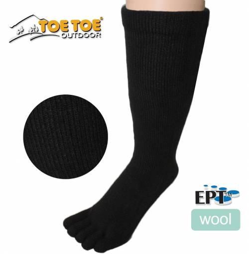 MERINO outdoorové prstové ponožky ToeToe