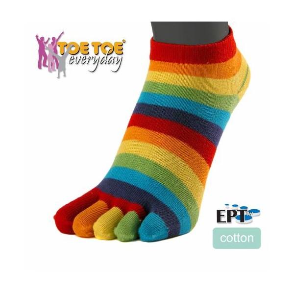 a3e4fc0c3a4 TRAINER prstové kotníkové ponožky ToeToe - 3 pack - Ponožkožrout.cz ...