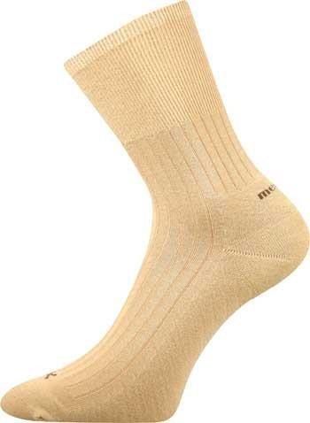 CORSA zdravotní ponožky s volným lemem a stříbrem Voxx