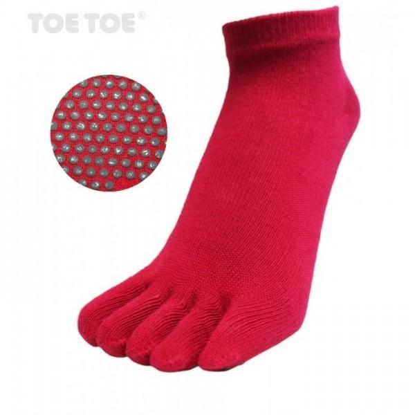 JOGA nízké ABS prstové ponožky ToeToe - 3 pack - Ponožkožrout.cz ... b02a1e8f2d