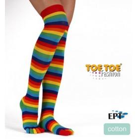 OVER-KNEE prstové nadkolenky ToeToe - Ponožkožrout.cz - ponožky ... 5eb54feee6