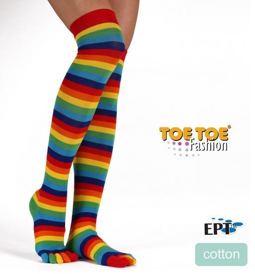 Prstové nadkolenky (overknee) ToeToe