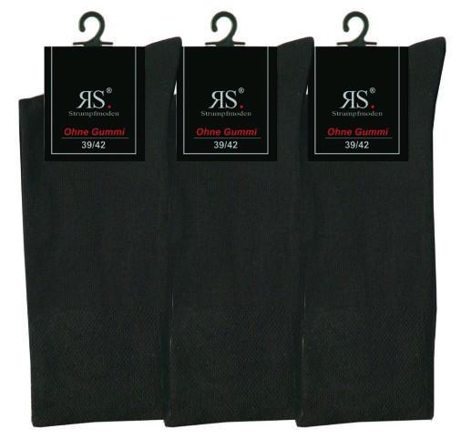 Pánské bavlněné ponožky bez gumiček RS