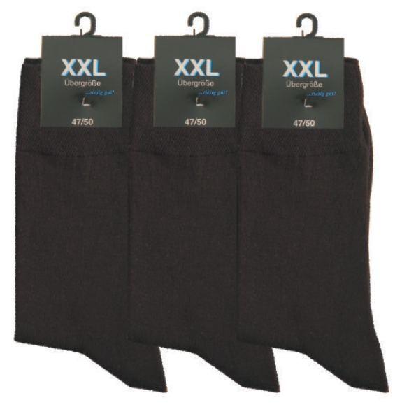 Pánské bavlněné XXL ponožky RS