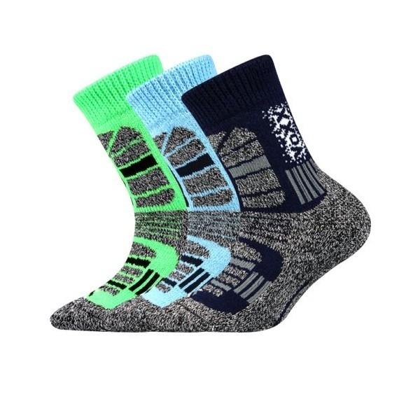 TRACTION dětské extra teplé zimní froté ponožky Voxx - Ponožkožrout ... 43145afb42