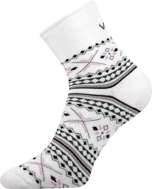 INGVILD froté ponožky s norským vzorem Voxx