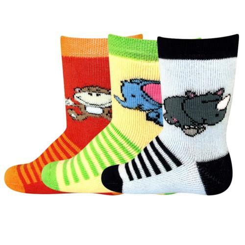 DOMINIK vzorované kojenecké ponožky Boma