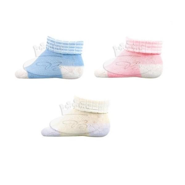 MÍŠA kojenecké froté ponožky Boma