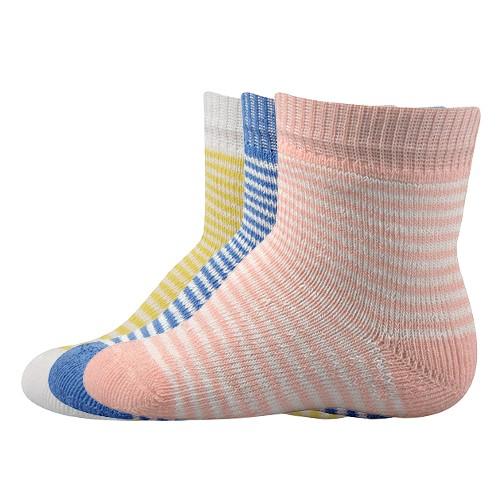 VENDELÍN kojenecké vzorované ponožky Boma