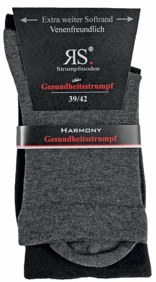 Dámské zdravotní ponožky bez gumiček RS