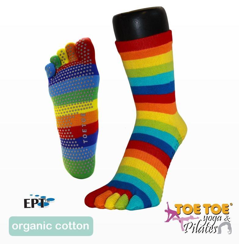 ANKLE ABS nízké prstové ponožky ToeToe